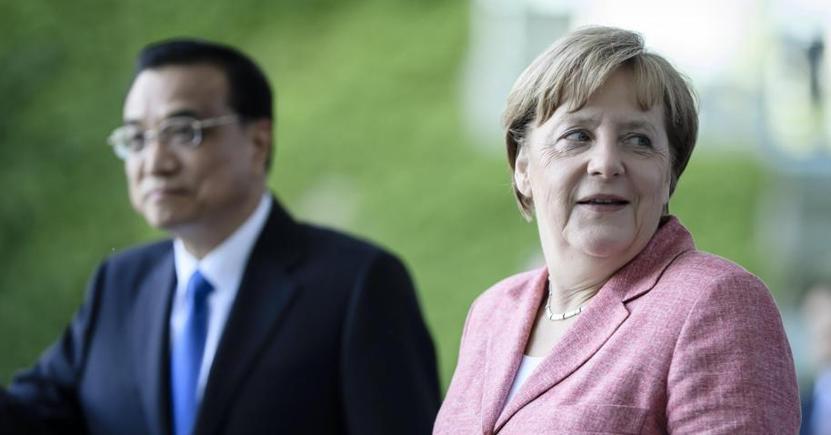 Merkel oggi a Berlino con il primo ministro cinese